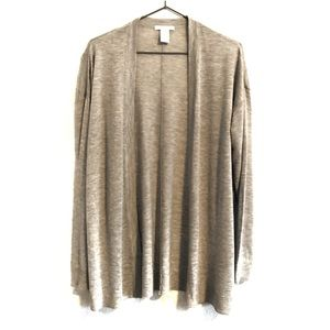 H&M open front cardigan. Size S